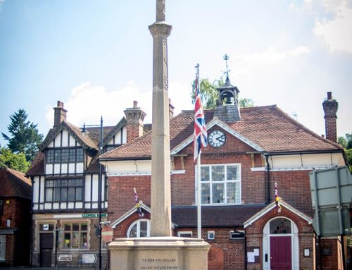 Haslemere High Street Memorial #4-1