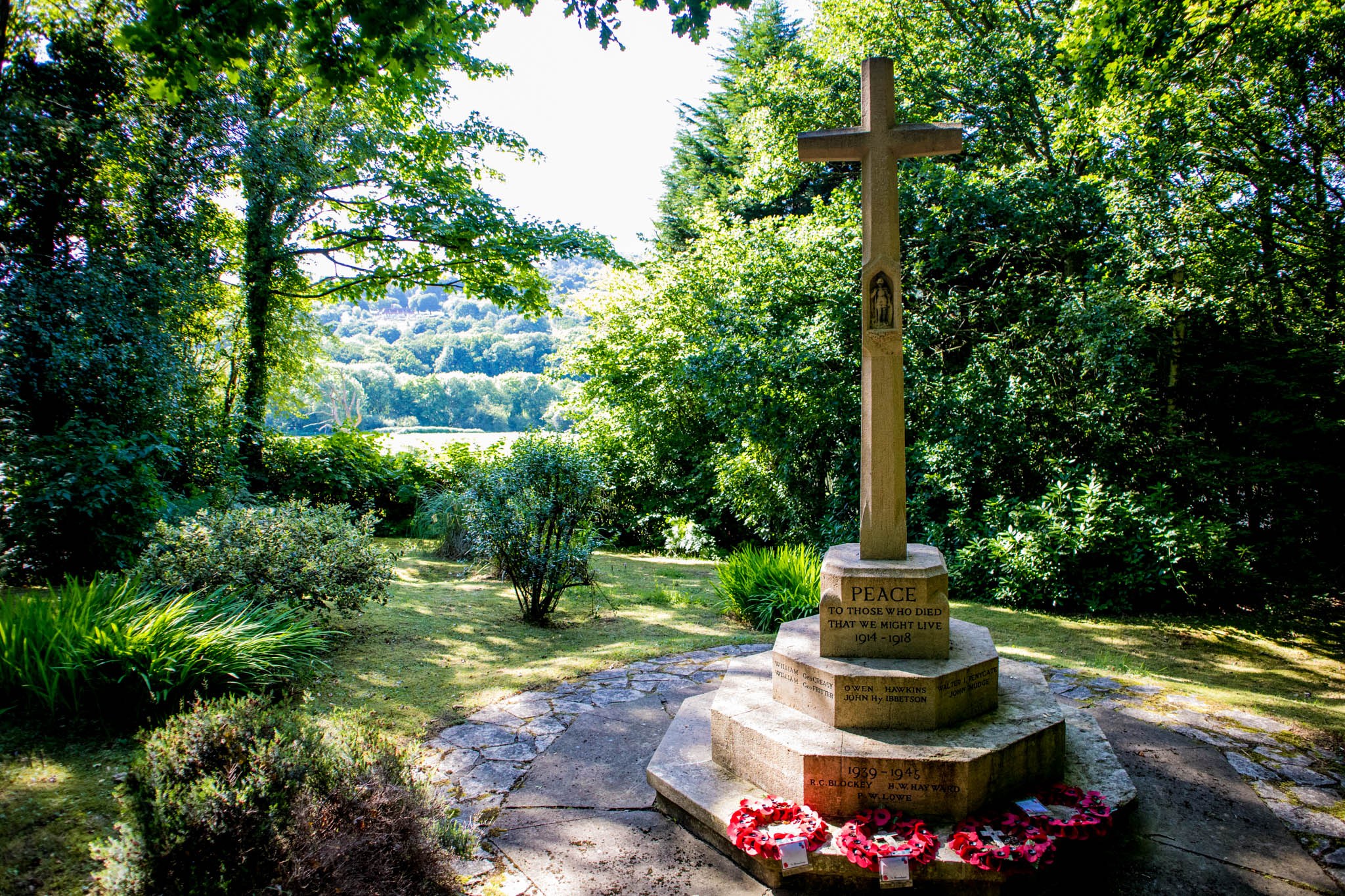 Grayswood War Memorial, Surrey, UK