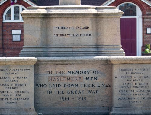 Haslemere High Street Memorial #5