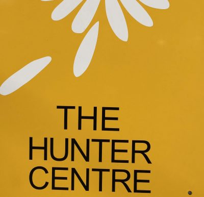 Hunter Centre sign