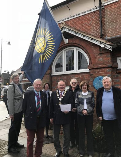 Haslemere Commonwealth Flag Day 2018
