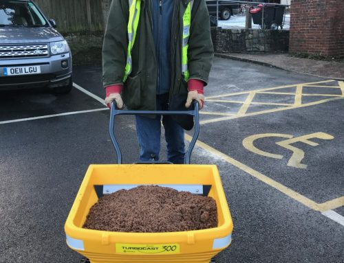 Town Centre Gritting Done
