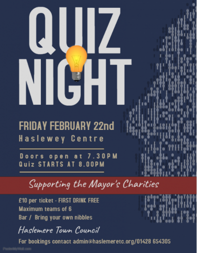 Haslemere Quiz Night 2019