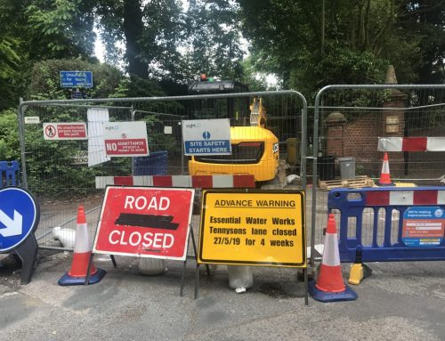 Tennyson Lane Closure